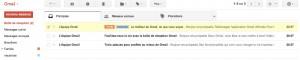 eMail appartenant à plusieurs libellés