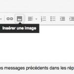 Insérer un logo dans une signature gmail