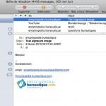 Réception du courriel avec Mail