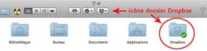 Accès au dossier Dropbox