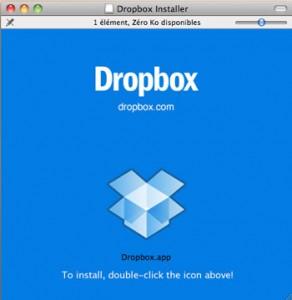 Installer Dropbox sur votre mac