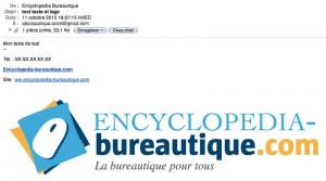 Vérification de votre email