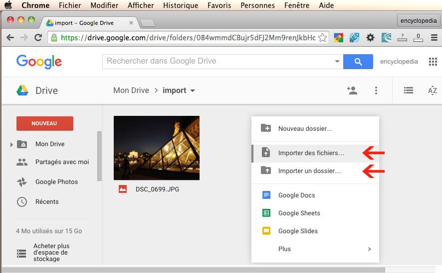 Google Drive Comment Ajouter Un Fichier A Google Drive