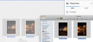 importer des photos dans Google Drive par Glisser/Déposer