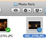 Synchronisation des fichiers Dropbox