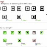 Choix de la forme du calibrage du qrcode