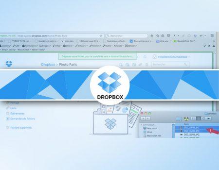 Comment ajouter un fichier sous Dropbox ?