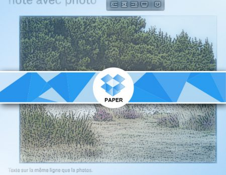 Comment ajouter une image sous Paper
