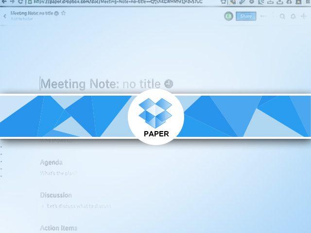 Google Agenda et Paper : les notes de rendez vous