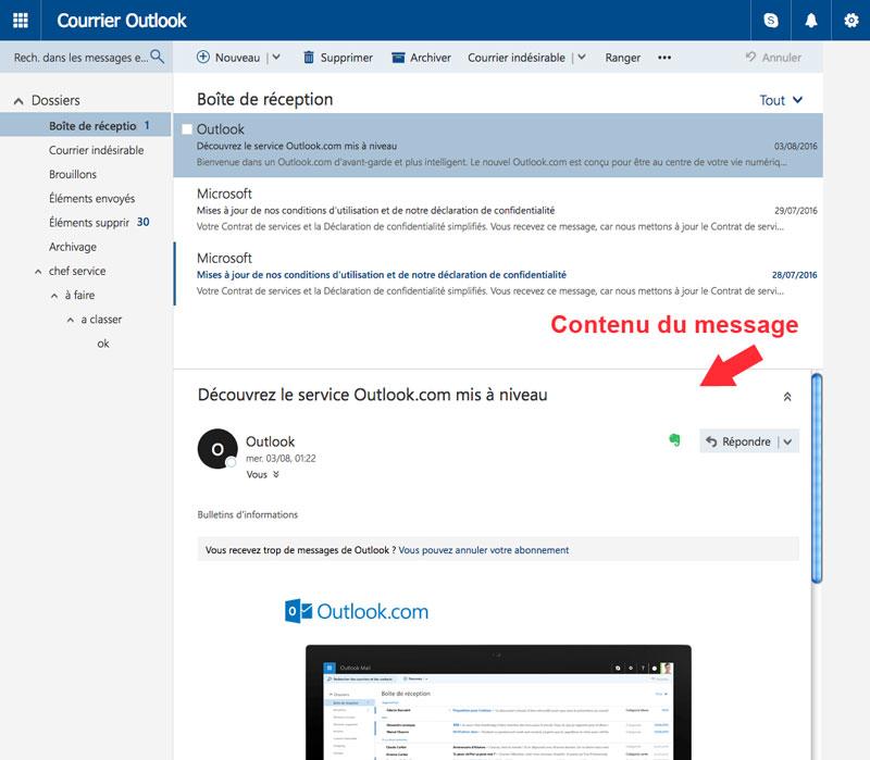 Outlook Trucs Et Astuces Outlook Pour Consulter Ses Emails