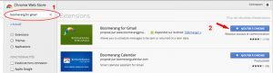 Installer boomerang for gmail