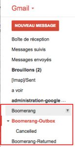 Libellés boomerang gmail