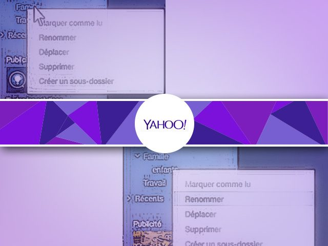 Organiser sa messagerie Yahoo : les dossiers