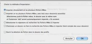 Option de fichier mbox thunderbird