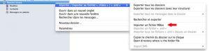 importer ou exporter vos emails avec Thunderbird