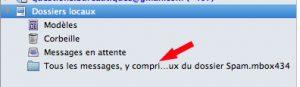 Archive mail .mbox importés