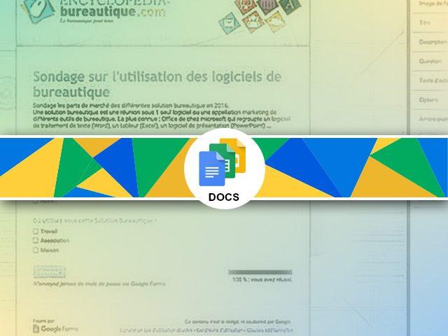 Personnaliser Google forms : changer le graphisme sur mesure !