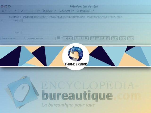 Comment créer une signature sous Thunderbird avec une image et un texte ?