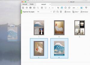 extraire des pages d'un pdf