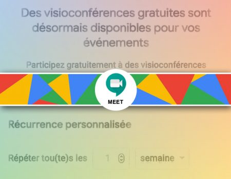 L'option notification d'un événement sous Google agenda