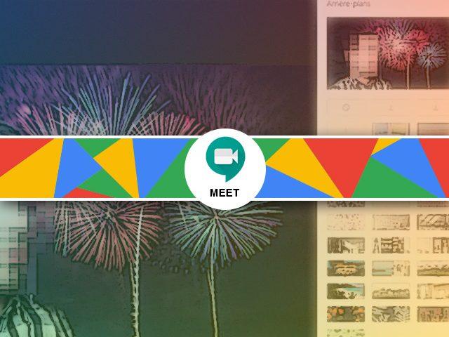 Flouter l'arrière-plan de google meet