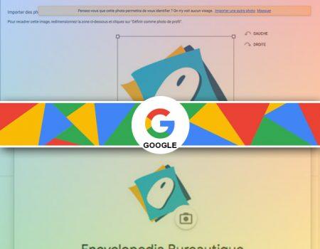Comment changer l'image de profil google?