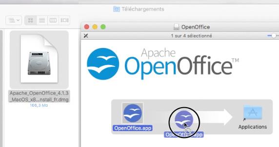 Installer openoffice sous mac