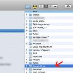 Dossier Google Drive sur votre ordinateur