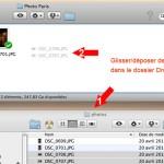 Ajouter un fichier sous dropbox