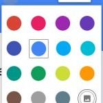 Palette des thème de couleurs Google Forms