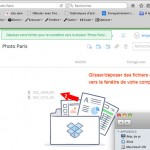 Transfert de fichiers sous Dropbox