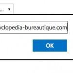 Lien vers un site web