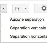option volet apercu gmail
