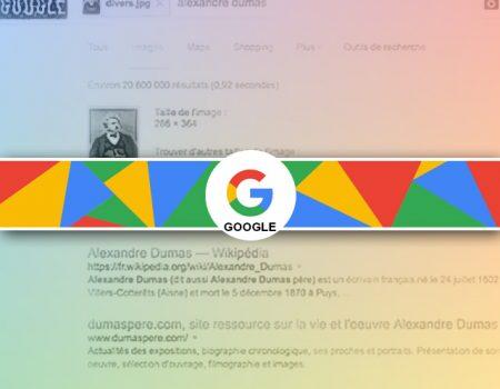 Rechercher une photo avec google image