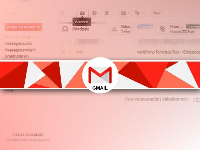 Comment archiver des mails sous Gmail ?