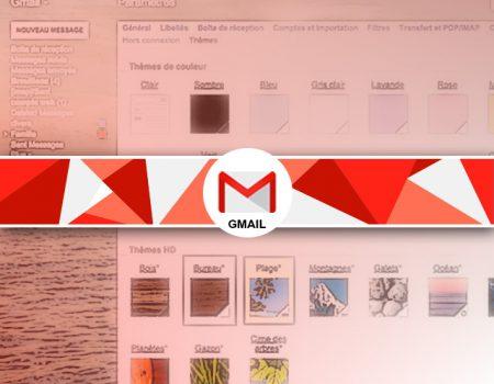 Personnaliser le fond d'écran de Gmail