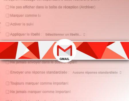 Trier automatiquement ses mails sous gmail avec les filtres