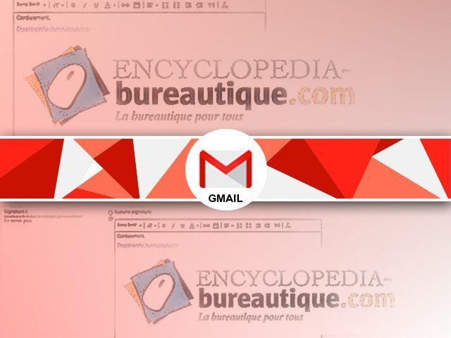 Comment créer une signature gmail avec une image et un texte ?