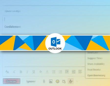 Comment ajouter une image à une signature outlook.com ?