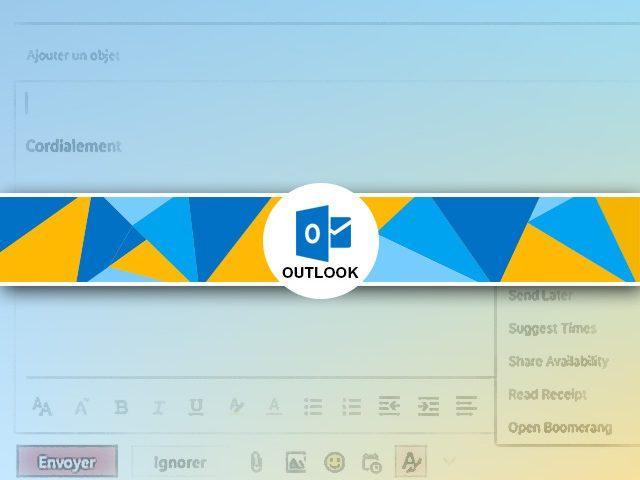 Programmer l'envoi d'un mail avec outlook avec Boomerang