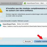 installer importexportools