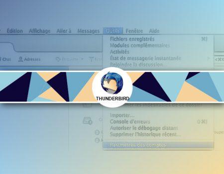 Créer une liste de contacts emails sous Thunderbird
