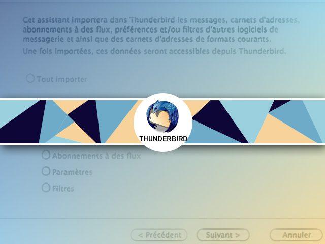 Comment importer un carnet d'adresses mail dans Thunderbirds ?
