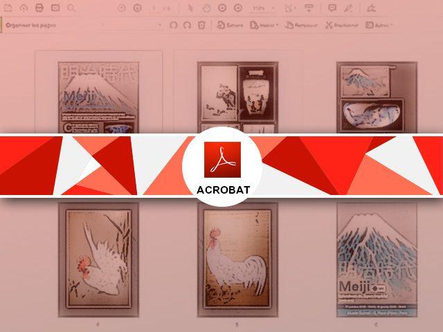 Déplacer, extraire, ajouter et supprimer une page d'un pdf