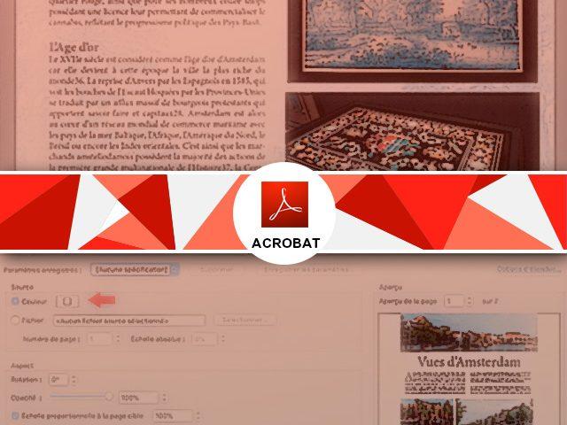 Comment ajouter un fond ou un arrière-plan à un pdf ?